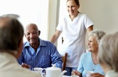 Assisted living group | Morsa Images/DigitalVision/Getty Images