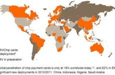 Worldwide EMV deployments