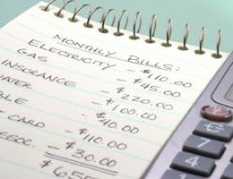 Create a post-divorce budget