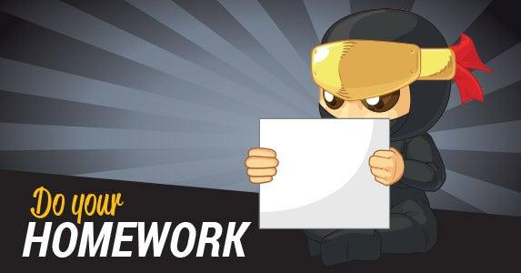 2. Do your homework | BluezAce/Shutterstock.com