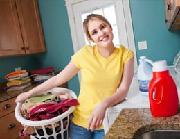 Buy easy-to-clean clothes