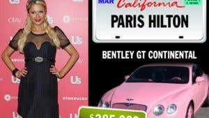 Celebrities and their rides: Paris Hilton