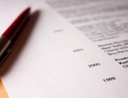 Tailor your resume to the specific job