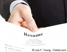 Presenting your resume