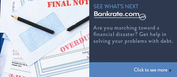 Are you marching toward a financial disaster? Get help in solving your problems with debt. © Pixsooz/Shutterstock.com