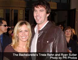 Bachelorette's Trista Rehn and Ryan Sutter