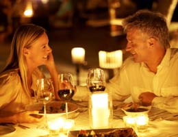 Use online sites to score deals on romantic meals