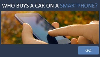 Who buys a car on a smartphone?