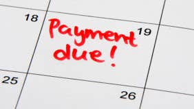 Is late Chapter 13 payment OK?