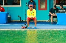 Lifeguard at the Olympics | Adam Pretty/Getty Images