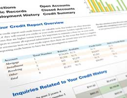 Check your credit report yearly