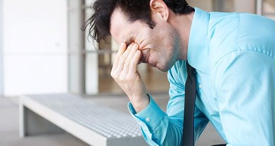 Stressed man © pkchai - Fotolia.com