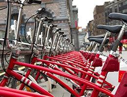 Bike sharing © hans engbers/Shutterstock.com