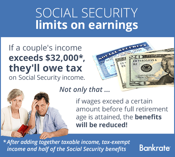 Social Security limits on earnings © Bigstock