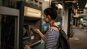 How to get cash from a credit card at the ATM