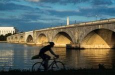 Along the Potomac River in Washington, D.C.