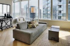 A high-rise condo