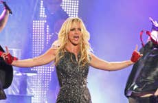 Britney Spears performing