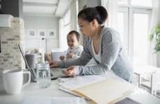 Single mom does taxes