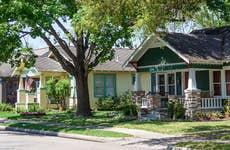 Houston Heights neighbhorhood