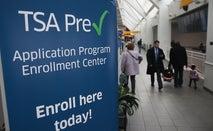 TSA-Pre check banner