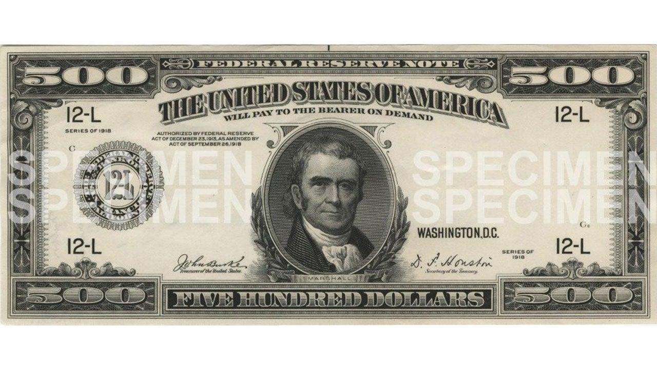 Blue Series $500