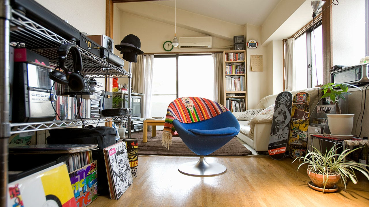Millennial livingroom