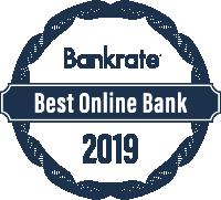 Bankrate's 2019 Best Online Bank Award