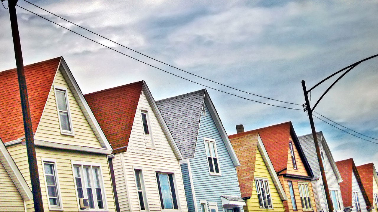 Homes in Chicago neighborhood