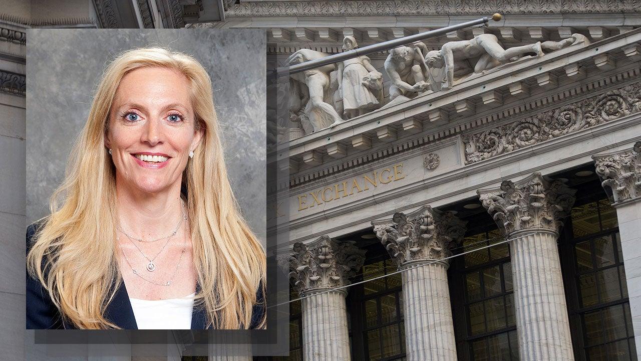 Lael Brainard at the New York Stock Exchange