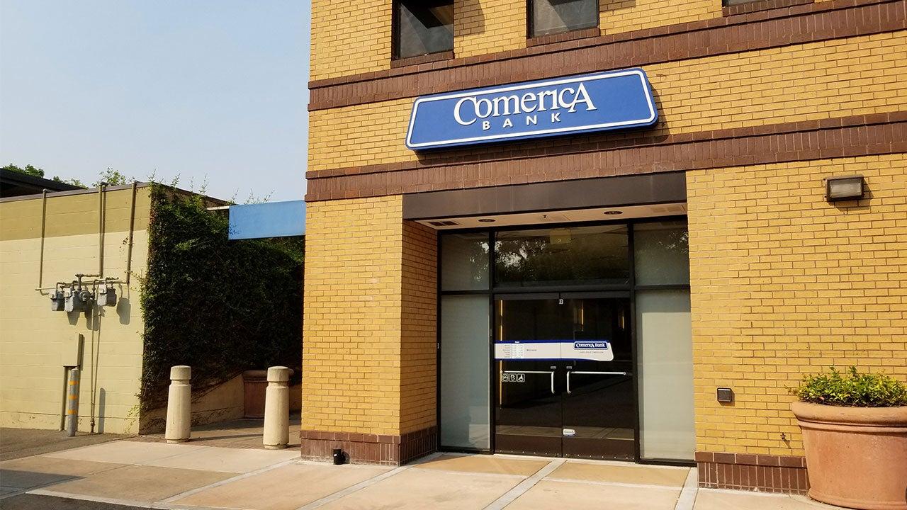 Comerica Bank branch