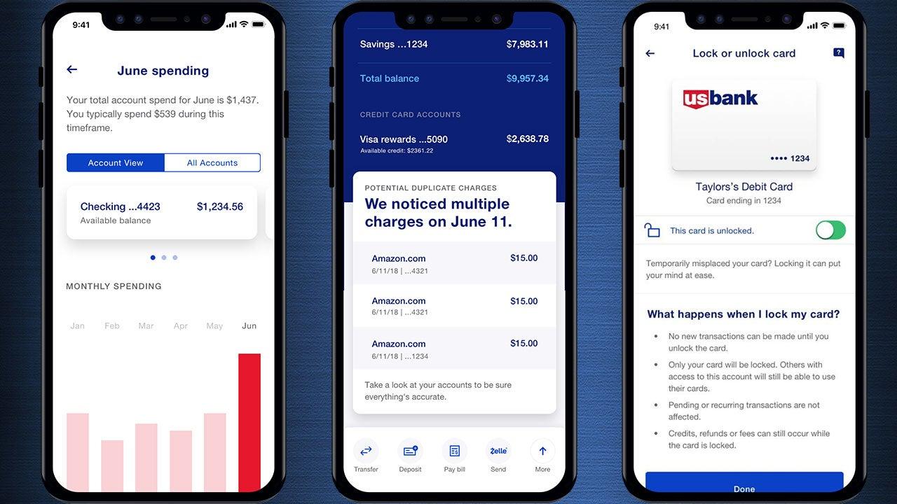 US Bank app