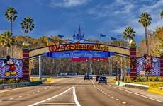 Entry to Disney World