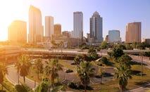 Skyline of Downtown Tampa, Florida, US
