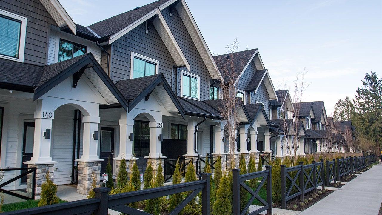Duplexes in suburb