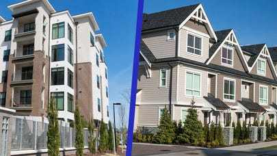 Condo vs. townhouse: Which is best for you?