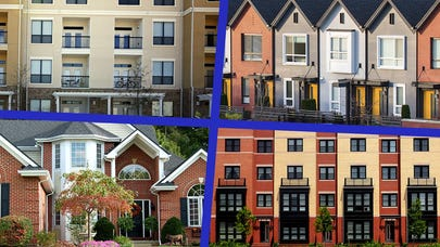 How to choose between a condo, house, townhouse or apartment