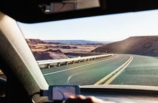 car driving in utah