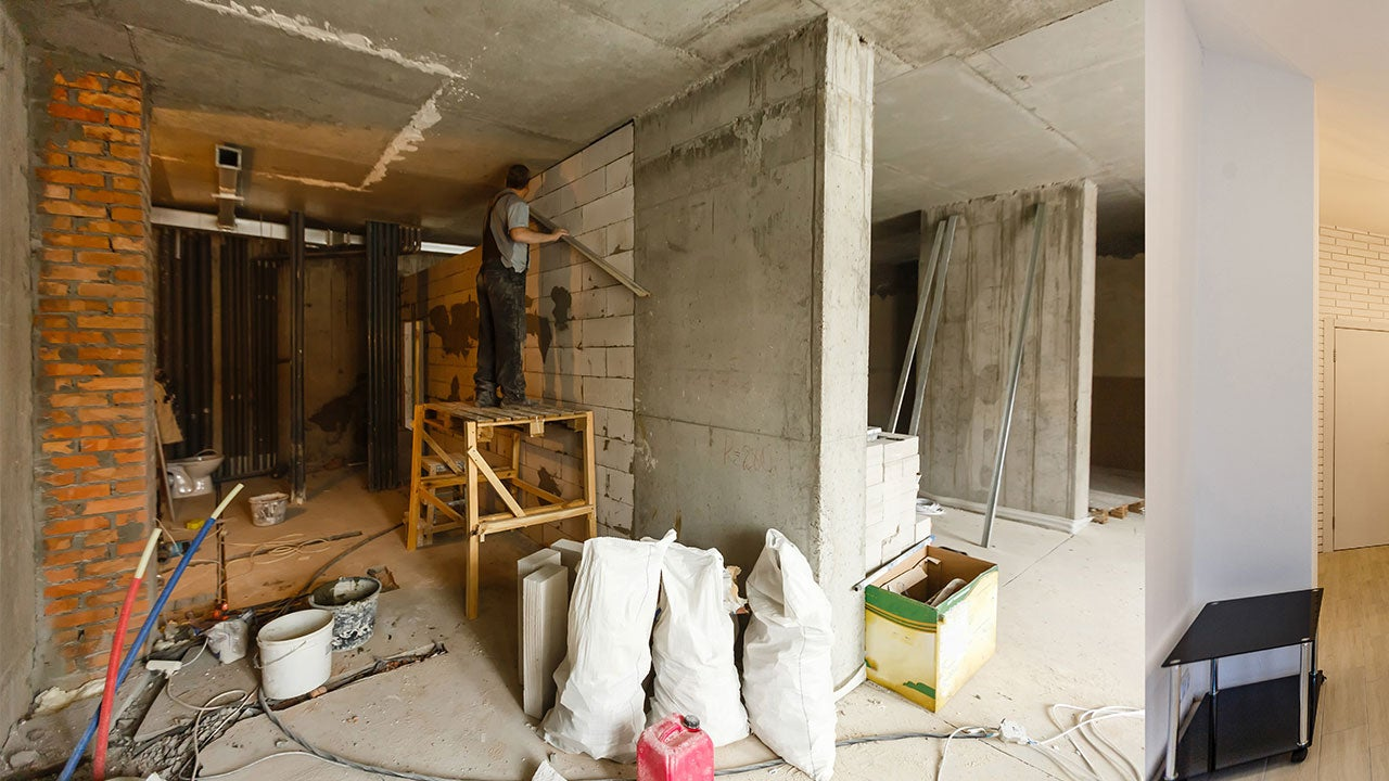 Renovation in home