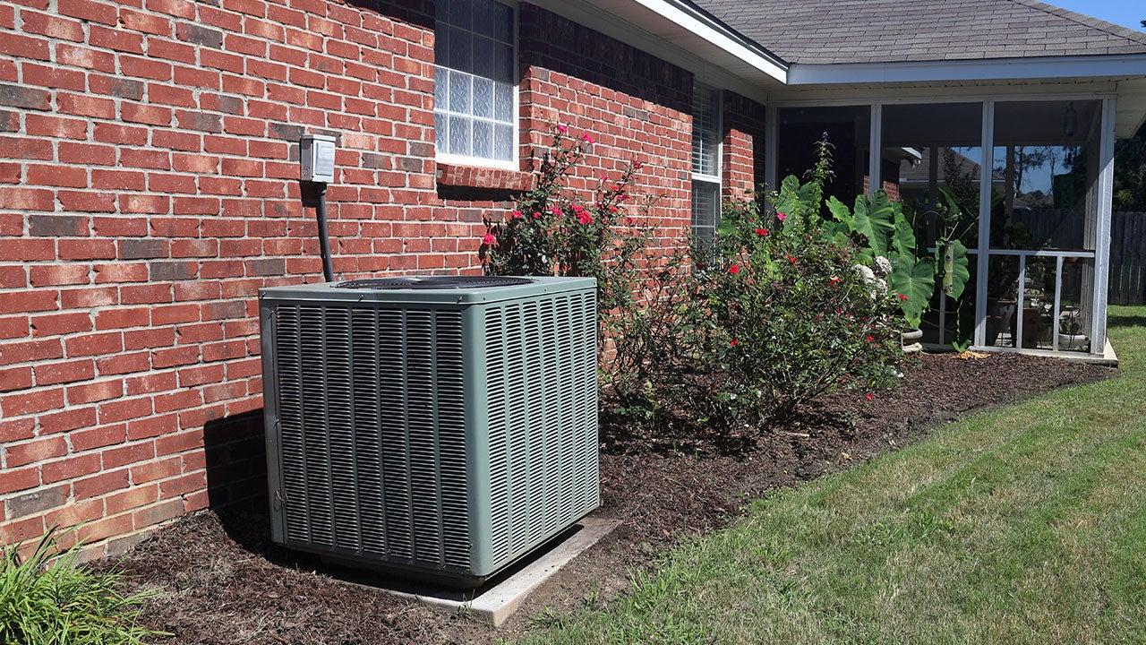 HVAC outside home
