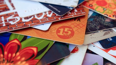 Survey: U.S. adults have more than $20 billion in unused gift cards or other leftover credits