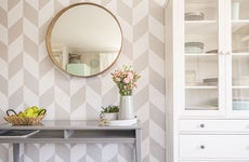 Wall paper room