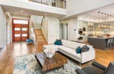 Interior of a home living room