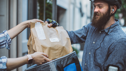 Your credit card could be earning you food delivery perks