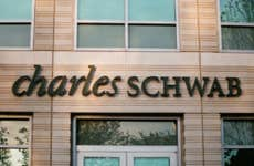 A picture of Charles Schwab brokerage building