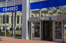 Exterior of a Chase bank