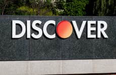 Discover sign.