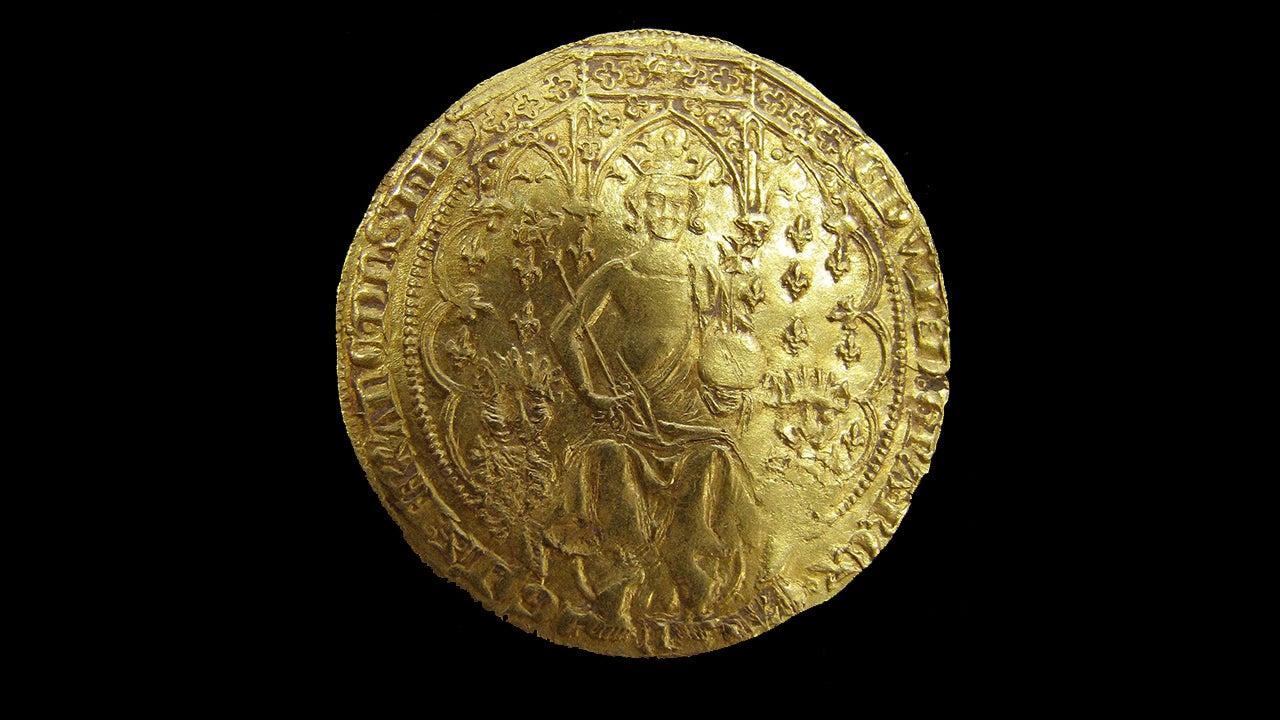 A rare King Edward III florin
