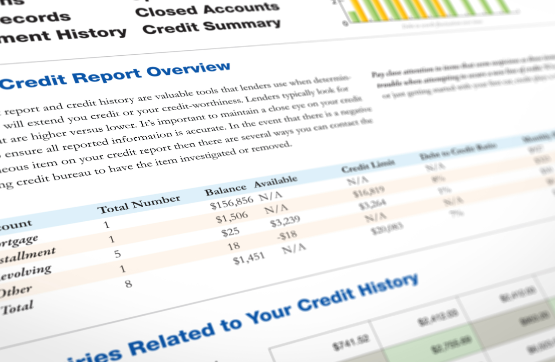 Removing closed accounts from credit report   Bankrate