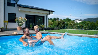 Does homeowners insurance cover your swimming pool?